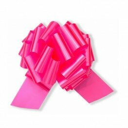 Бант на авто розовый